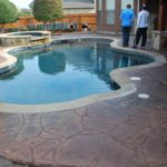 Stamped Concrete Overlay Dallas, TX