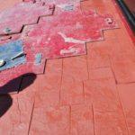 Stamped Concrete Overlay Dallas, TX