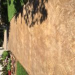Acid Etch Stained Concrete Driveway