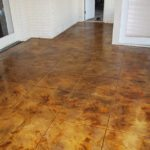 Acid Etched Stained Concrete Midshipmanidlothian Texas