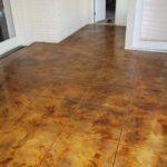 Acid Etched Stained Concrete Midshipmanidlothian Texas