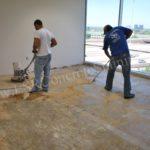 acid-stain-prep-work-office-floor
