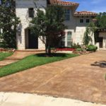 Driveway Stained Concrete