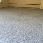 Garage Epoxy Chip Flooring