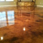 Concrete Overlay Micro Finish Stained Concrete