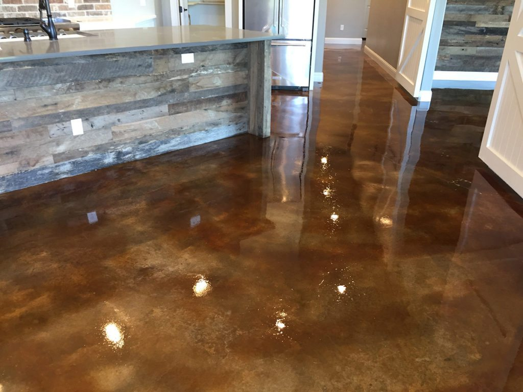 Stained Concrete Flooring Dallas, TX