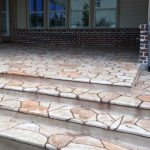 Stamped Concrete Overlay McKinney, TX