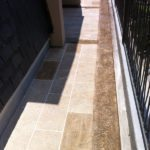 Stamped Concrete Overlay Engraving Dallas, TX