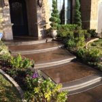 Stamped Concrete Walkway Dallas, TX