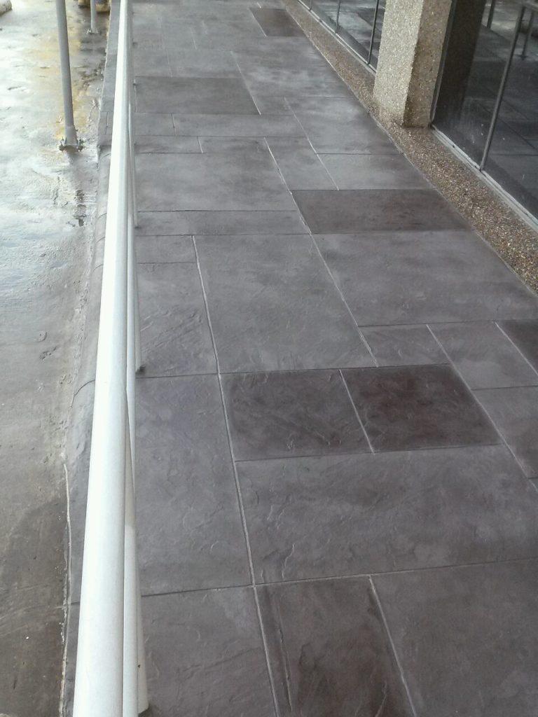 Slate Stamped Concrete Dallas, TX