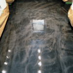 Metallic Epoxy Concrete Flooring