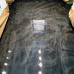 Metallic Epoxy Concrete Flooring